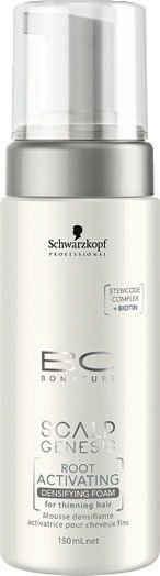 Schwarzkopf Professional Haarfestiger »BC Scalp Genesis Root Activating Densifying Foam«, für dünner werdendes Haar