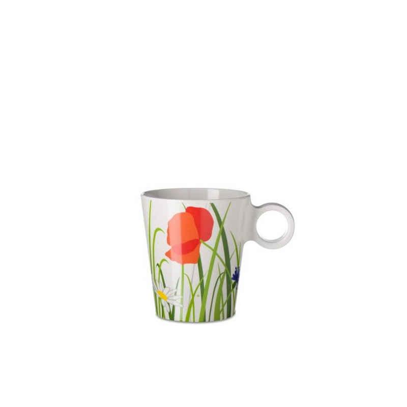 Mepal Becher »Henkelbecher Flow Fields Of Flowers«, Melamin