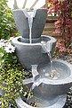Arnusa Gartenbrunnen »Zimmerbrunnen Botana Warm-Weiß«, 53,00 cm Breite, (Komplett-Set), Springbrunnen bepflanzbar und mit Beleuchtung, Bild 4