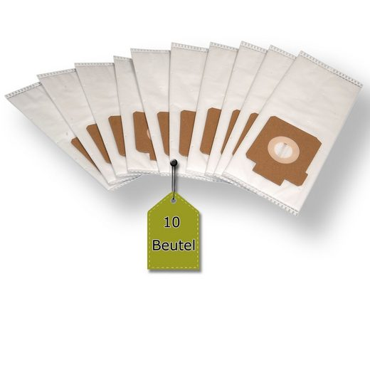 eVendix Staubsaugerbeutel Staubsaugerbeutel passend für Hoover DV70 DV00 - 100 Diva, 10 Staubbeutel + 2 Mikro-Filter, kompatibel mit SWIRL E60, passend für Hoover