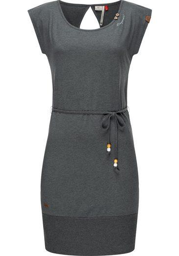 Ragwear Sommerkleid »Soho« leichtes Jerseykleid mit Bindeband