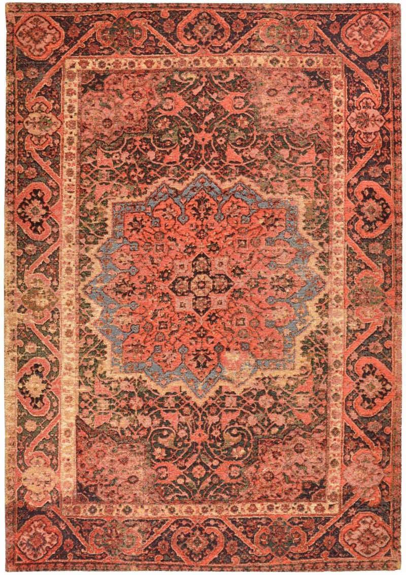 Teppich »Funky Orient Ghom«, TOM TAILOR, rechteckig, Höhe 5 mm, Kurzflor, Orient-Optik, Vintage Design, Wohnzimmer