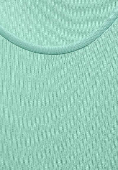 STREET ONE Longsleeve »StreetOne T-Shirt im Seiden Look«