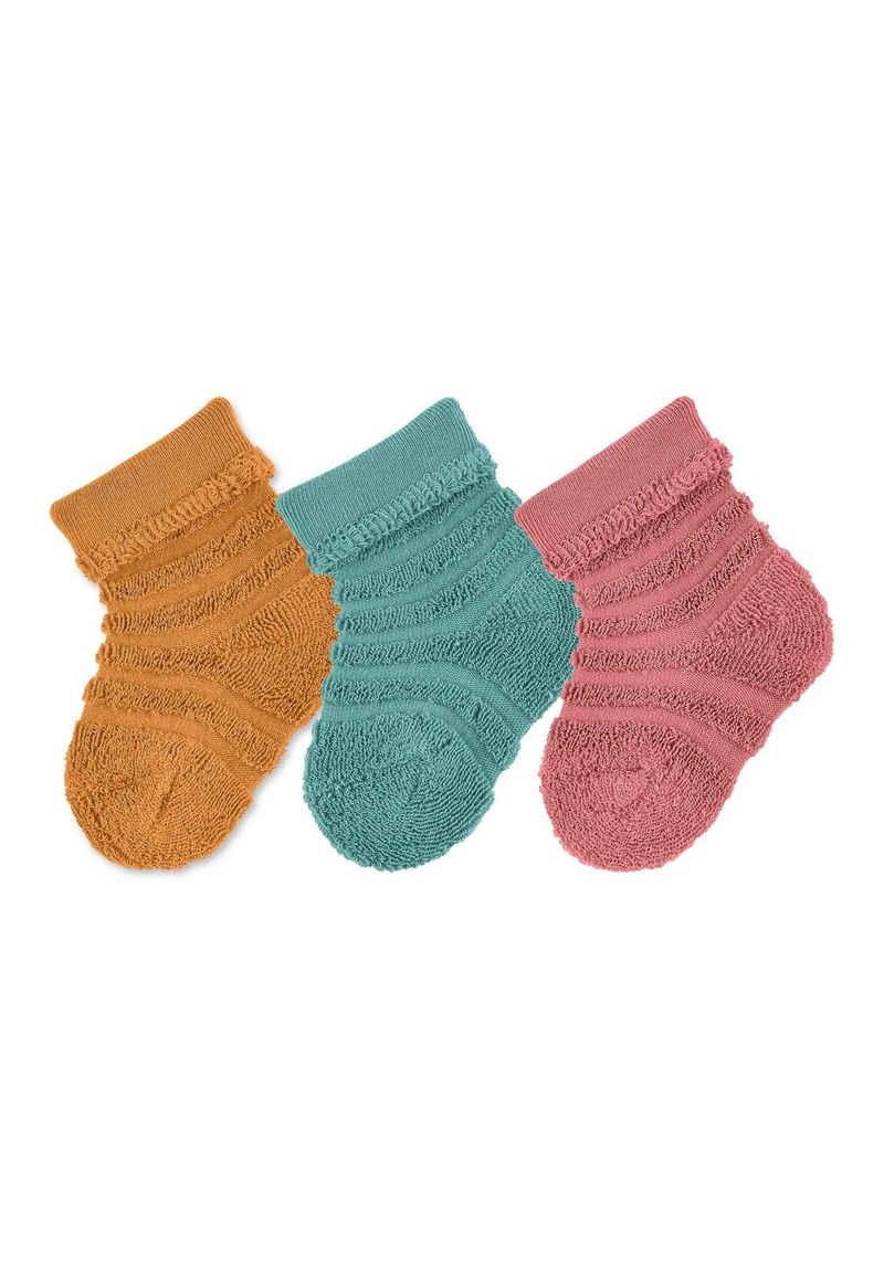 Sterntaler® Socken »Baby-Söckchen 3er-Pack uni«