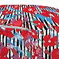 Abakuhaus Pouf »dekorative weiche Fußstütze und Reißverschlusshülle osmanisches Wohn-und Schlafzimmer«, Blumen Angehende Blumen und Streifen, Bild 3