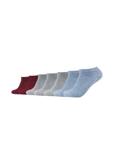 Camano Socken (7-Paar) ca-soft 7er Pack Bund ohne Gummidruck