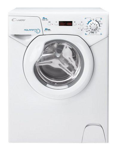 Candy Waschmaschine AQUA 1142D1/2-S, 4 kg, 1100 U/Min, A+, Digitaldisplay, Türsicherung, eine der kleinsten Waschmaschinen auf dem Markt!