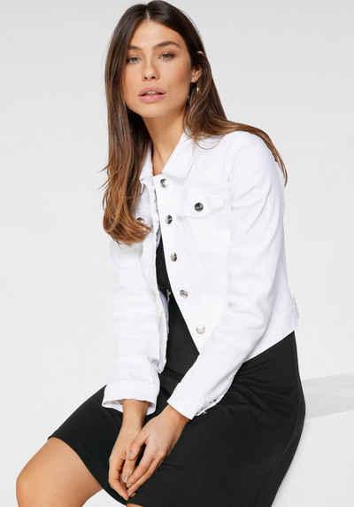 Tamaris Jeansjacke mit zwei Pattentaschen
