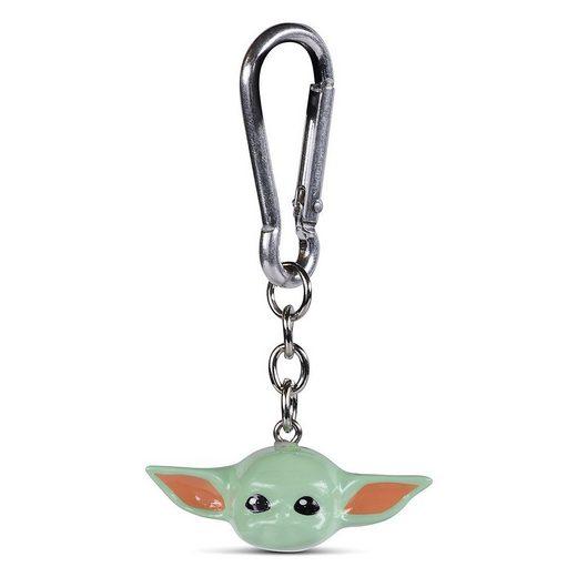 MARVEL Schlüsselanhänger »Schlüsselanhänger Mandalorian Child (Baby Yoda) 3D«
