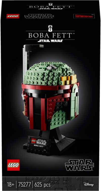 LEGO® Konstruktionsspielsteine »Boba Fett™ Helm (75277), LEGO® Star Wars™«, (625 St), Made in Europe
