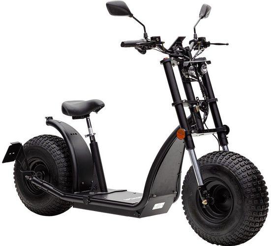 Forca E-Scooter »Knumo Duo 3000 Plus 45 km/h (inkl. Lithium-Akku)«, 3000 W, 45 km/h