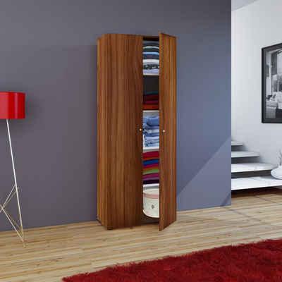 VCM Mehrzweckschrank »Holz Mehrzweckschrank Serie Vandol mit Drehtüren«