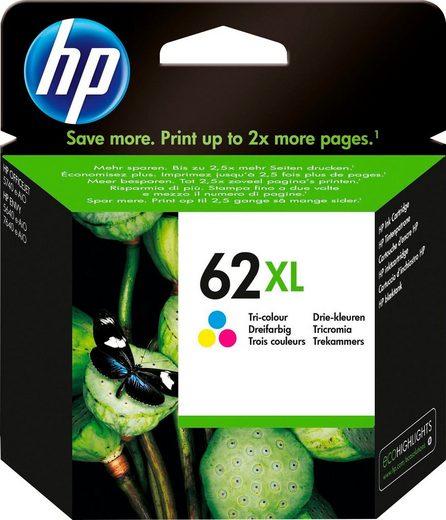 HP »hp 62XL Original Cyan, Magenta, Gelb« Tintenpatrone (1-tlg)