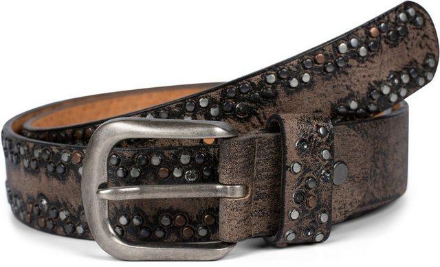 styleBREAKER Nietengürtel »Gürtel mit kleinen Nieten« Gürtel mit kleinen Nieten | Accessoires > Gürtel > Nietengürtel | styleBREAKER