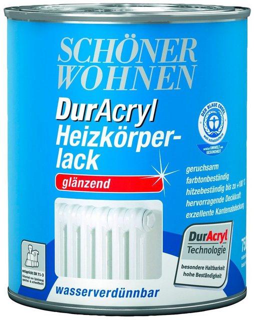 DurAcryl Heizkörperlack, glänzend, weiß