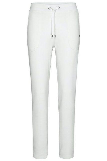 Hosen - bugatti 5 Pocket Hose mit breitem Bund › natur  - Onlineshop OTTO