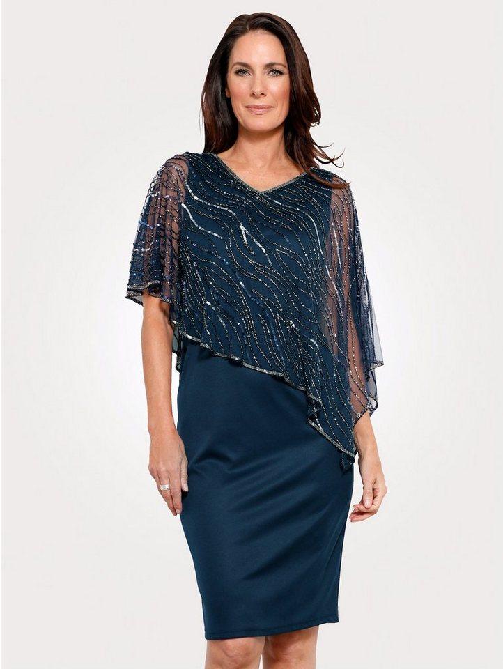 Festtagsmode - Mona Abendkleid mit bestickten Überwurf ›  - Onlineshop OTTO
