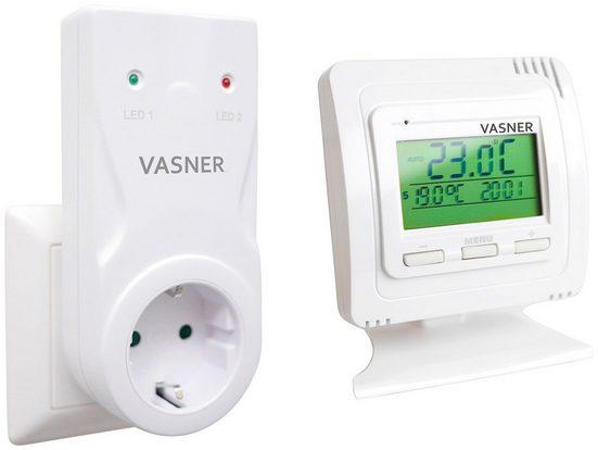 Vasner Raumthermostat »VFTB-AS«, für Infrarotheizung, Sender + Steckdosen Empfänger