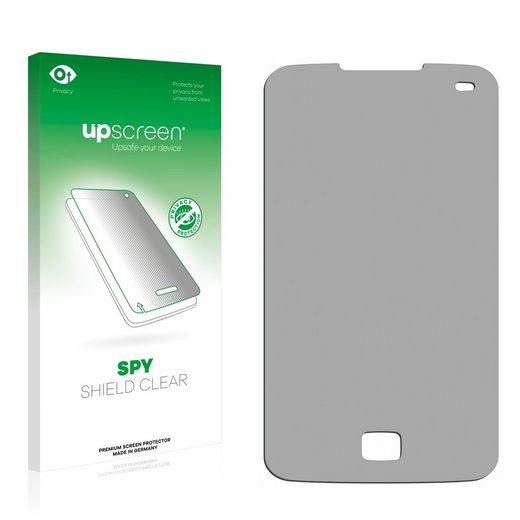 upscreen Schutzfolie »für LG Electronics E510 Optimus Hub«, Folie Schutzfolie Sichtschutz klar anti-spy