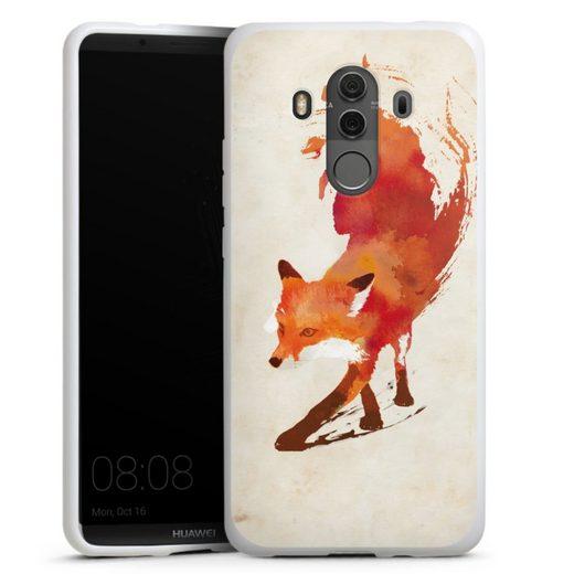 DeinDesign Handyhülle »Vulpes Vulpes« Huawei Mate 10 Pro, Hülle Fuchs Graphic Herbst