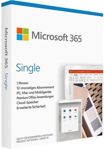 Microsoft Office 365 Single (Officeprogramm Lize...