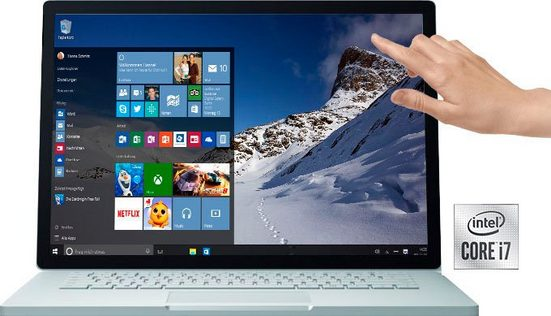 Microsoft Surface Book 3 Notebook (34,29 cm/13,5 Zoll, Intel Core i7, - GB HDD, 512 GB SSD, inkl. Office-Anwendersoftware Microsoft 365 Single im Wert von 69 Euro)