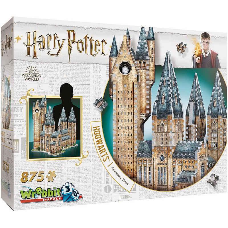 Wrebbit 3D-Puzzle »3D-Puzzle Harry Potter Hogwarts Astronomieturm,«, Puzzleteile