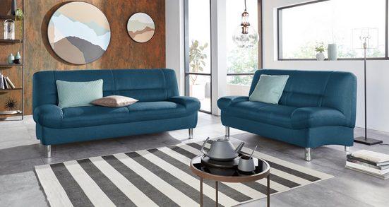 DOMO collection Sofa, Polster-Garnitur 2,5- und 2-Sitzer