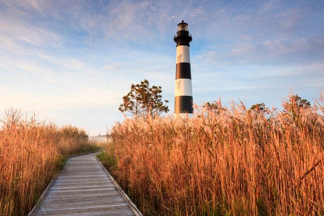 Papermoon Bodie Island Lighthouse Fototapete