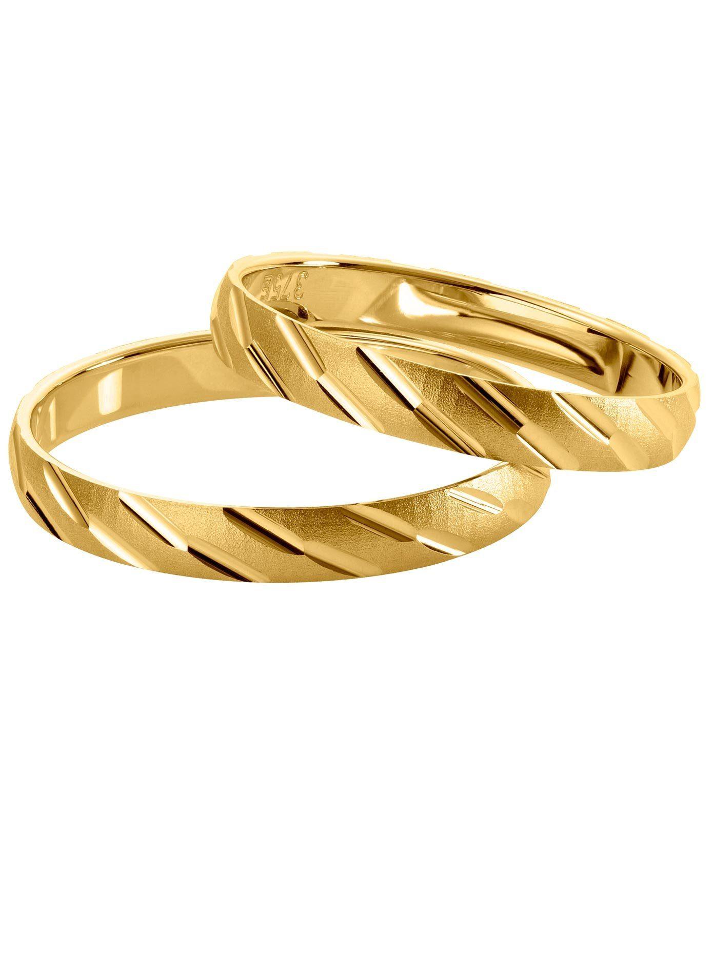 16 mm glänzene goldfarbene Klangkugel aus Messing