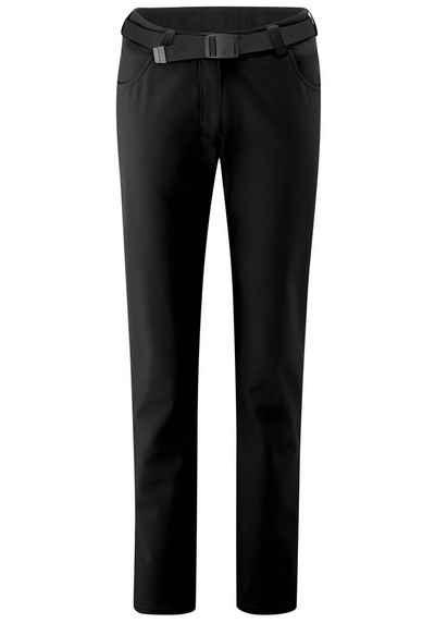 Maier Sports Funktionshose »Perlit W« Warme, robuste Softshellhose, elastisch