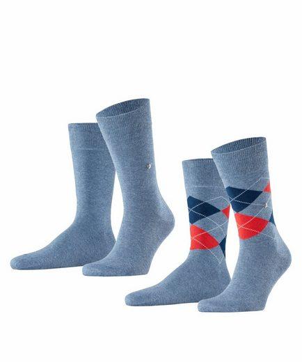 Burlington Socken »Everyday 2-Pack« (2-Paar) aus weicher gekämmter Baumwolle