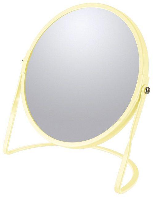 Kosmetikspiegel »AKIRA«, mit 5-fach Vergrößerung | Bad > Bad-Accessoires > Kosmetikspiegel | Gelb | spirella