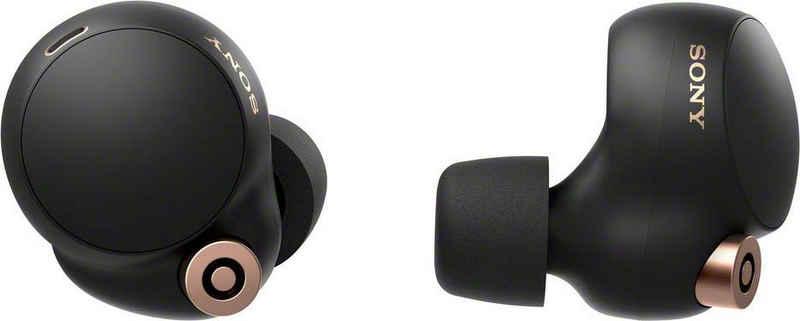 Sony »WF-1000XM4 kabelloser Earbuds« wireless Kopfhörer (Noise-Cancelling, True Wireless, Alexa, Google Assistant, A2DP Bluetooth (Advanced Audio Distribution Profile), AVRCP Bluetooth (Audio Video Remote Control Profile), HFP, HSP, NFC, Sony Earphones mit Mikrofon, Noise Cancelling)