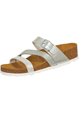 »560188« sandalai Natural Glitter silb...