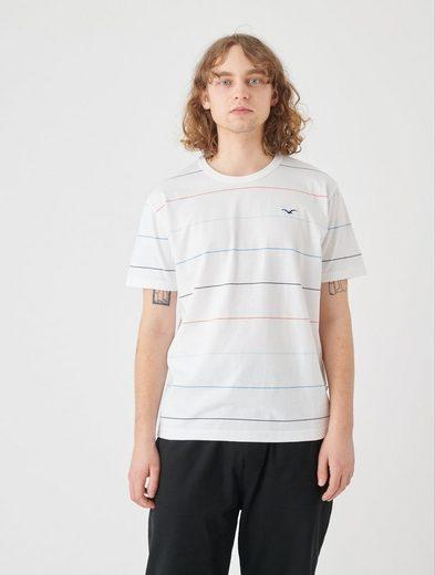 Cleptomanicx T-Shirt »Multi Stripe« im Streifen-Design