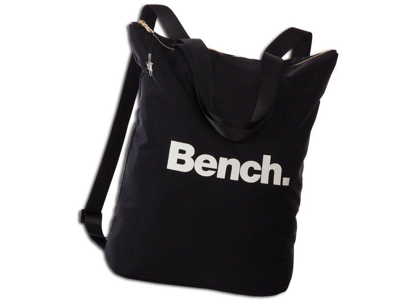 bench. -  Cityrucksack »ORI303X Bench Cityrucksack 30x40x13«, Damen, Jugend Cityrucksack, Henkeltasche Nylon, schwarz