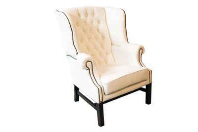 JVmoebel Ohrensessel, Chesterfield Ohrensessel Garnitur Design Sessel