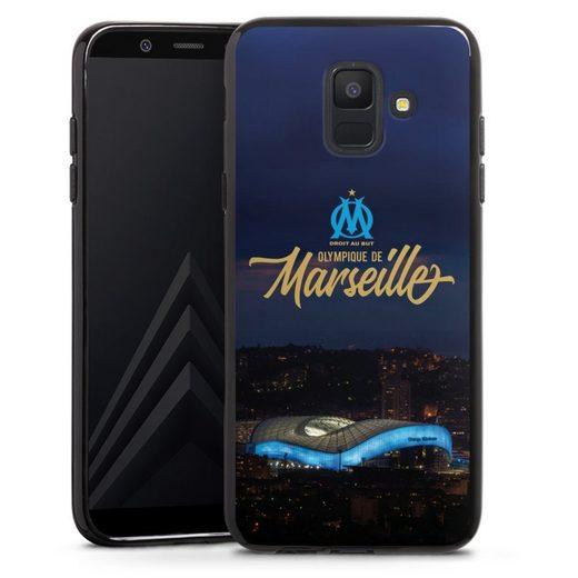 DeinDesign Handyhülle »Stadium Night« Samsung Galaxy A6 (2018), Hülle Olympique de Marseille Vélodrome Offizielles Lizenzprodukt