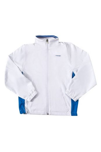Head Softshelljacke »HEAD Sport-Jacke schüzende Kinder Freizeit-Jacke Club Hartley Junior All Season Jacket Kinder-Jacke Weiß/Blau«