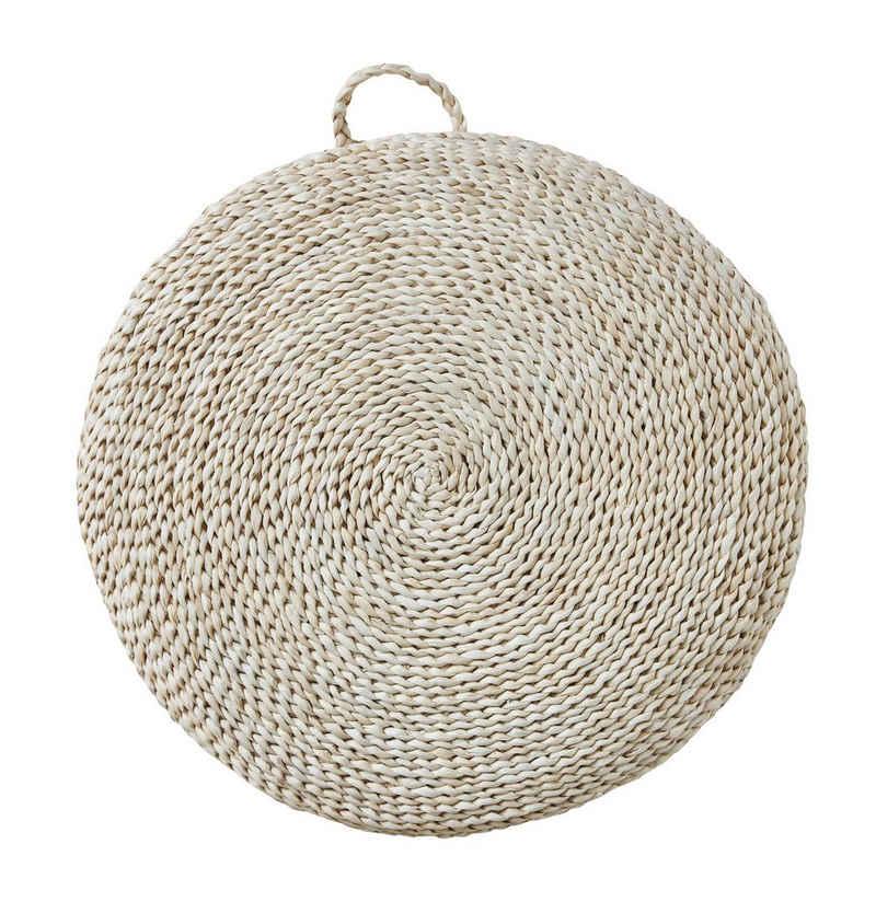 Bloomingville Sitzkissen »Bloomingville Sitzkissen LEONARDO Seegras 57 cm«