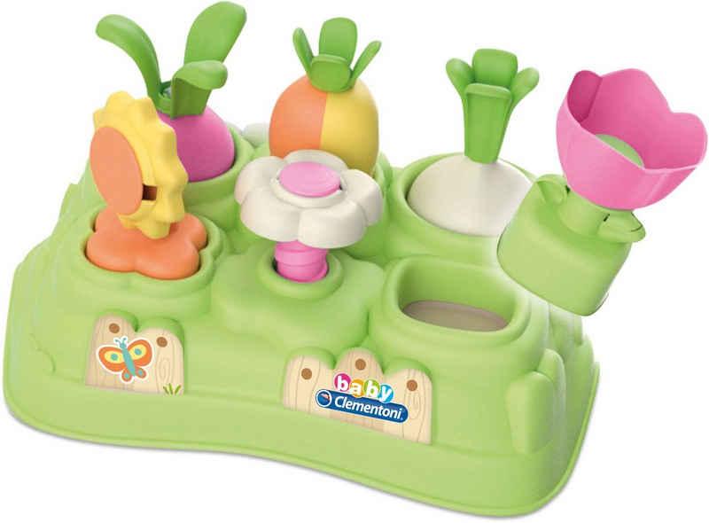 Clementoni® Steckspielzeug »Baby Clementoni - Mein erster Garten«, Made in Europe