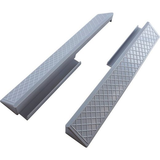 BABY-DAN Bettschutzgitter »Fußplatten für druckmontierte Gitter«