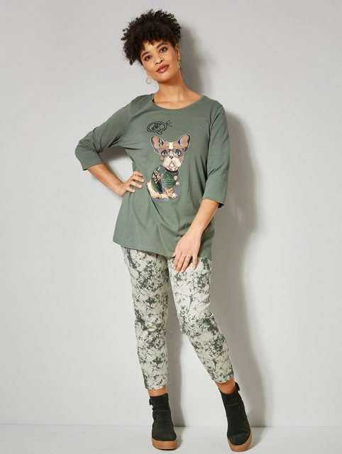 Hosen - Angel of Style by HAPPYsize 7 8 Hose mit angesagtem Batik Effekt ›  - Onlineshop OTTO