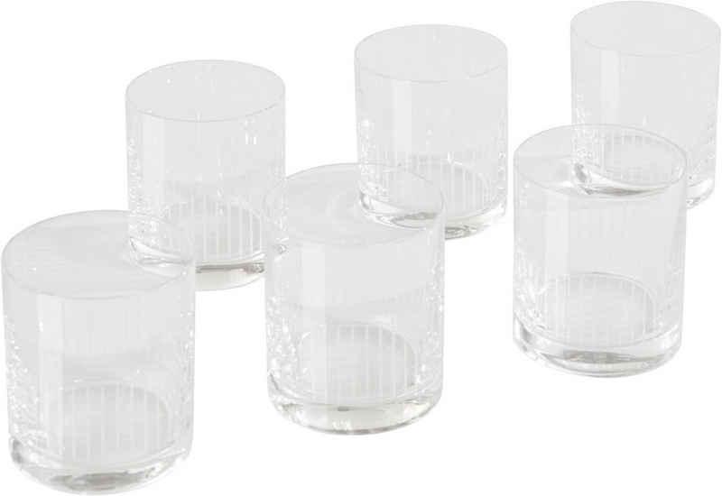 Guido Maria Kretschmer Home&Living Whiskyglas »Amélana«, Glas, 280 ml, 6-teilig