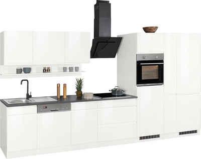 HELD MÖBEL Küchenzeile »Virginia«, ohne E-Geräte, Breite 390 cm