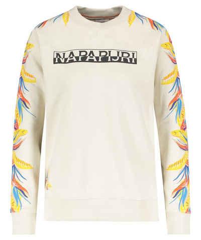 """Napapijri T-Shirt »Damen Sweatshirt """"Belor""""«"""