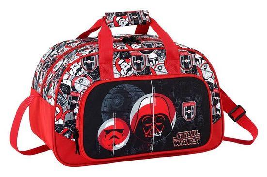 Star Wars Sporttasche »Star Wars - Sporttasche, 40x24x23 cm« (Reißverschluss, Jungen), Geringes-Gewicht