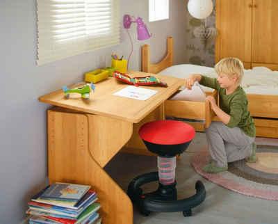 BioKinder - Das gesunde Kinderzimmer Kinderschreibtisch »Emil«, 120x60 cm, höhenverstellbar von 63-75 cm