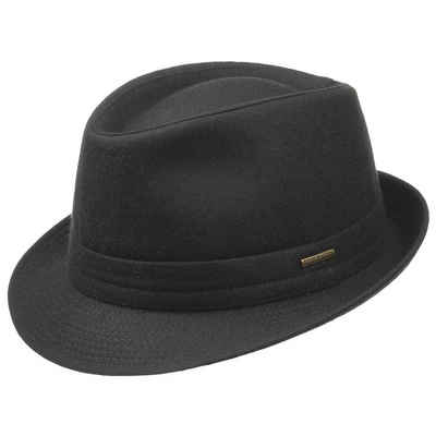 Stetson Trilby Trilby mit Futter, Made in Italy